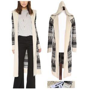 Bb Dakota long hooded sweater jacket duster